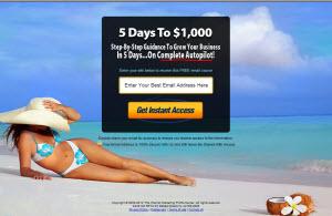 5 Days To $1,000
