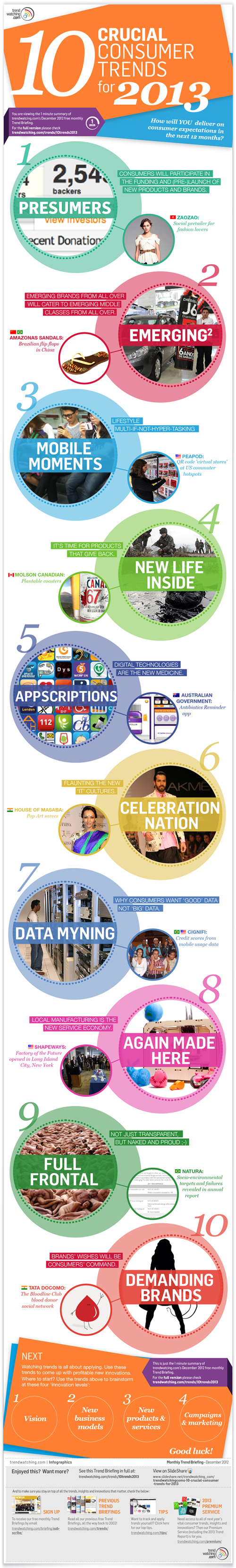 consumer trends 2013 infographic small business owners