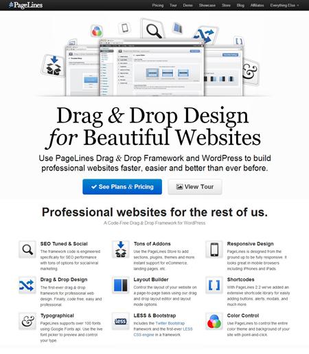 PageLines WordPress theme frameworks
