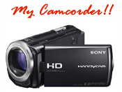JSony camcorder to shoot video presentations