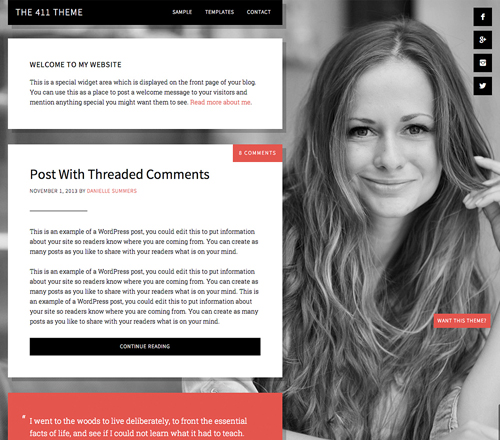 studiopress 411 pro theme wordpress