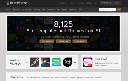 Premium WordPress Themes Providers - ThemeForest Review