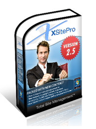 XSitePro web site design software