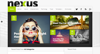 Nexus ElegantThemes WordPress