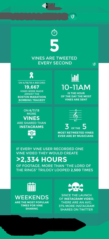 Vine infographic marketing