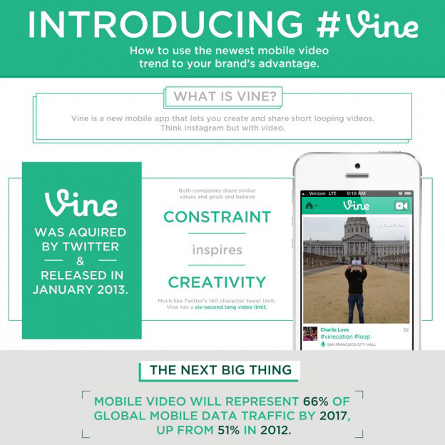 Vine online and offline marketing