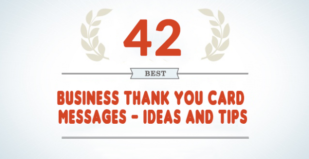 42 Best Business Thank You Card Messages - Samples, Tips ...