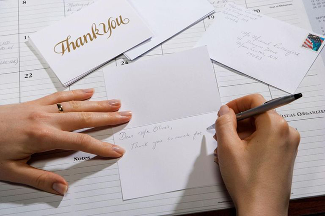 Business Thank You Card Messages 5